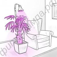 """Фитосветильник светодиодный для растений в больших горшках и в кадках """"Яркий Колокольчик"""" 50-200 Вт"""