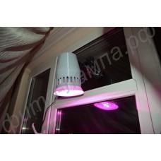 """Оконный светильник для растений на тройной присоске с регулируемым кронштейном """"Эниф"""" мощностью 20-50Вт"""